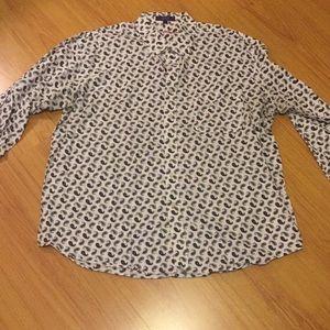 Alan Flusser Men's XXL shirt